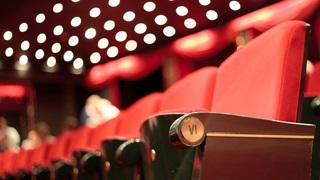 row of theatrechairs