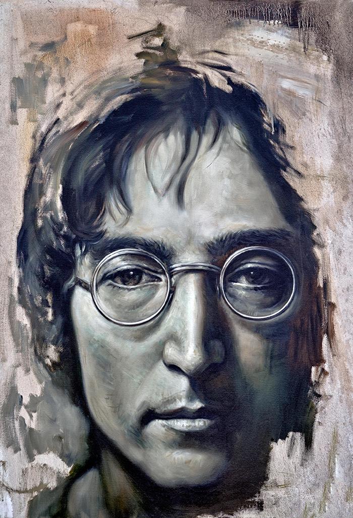 Mural of John Lennon