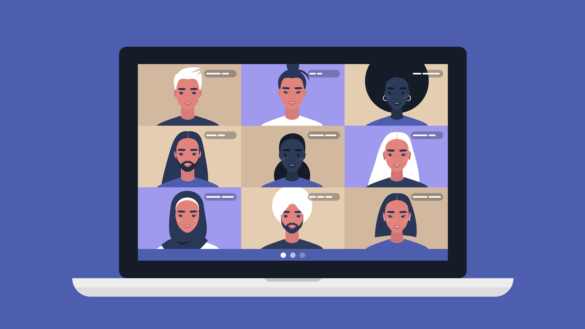 people online meeting