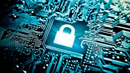 Data Protection Report blog - privacy lock motherboard
