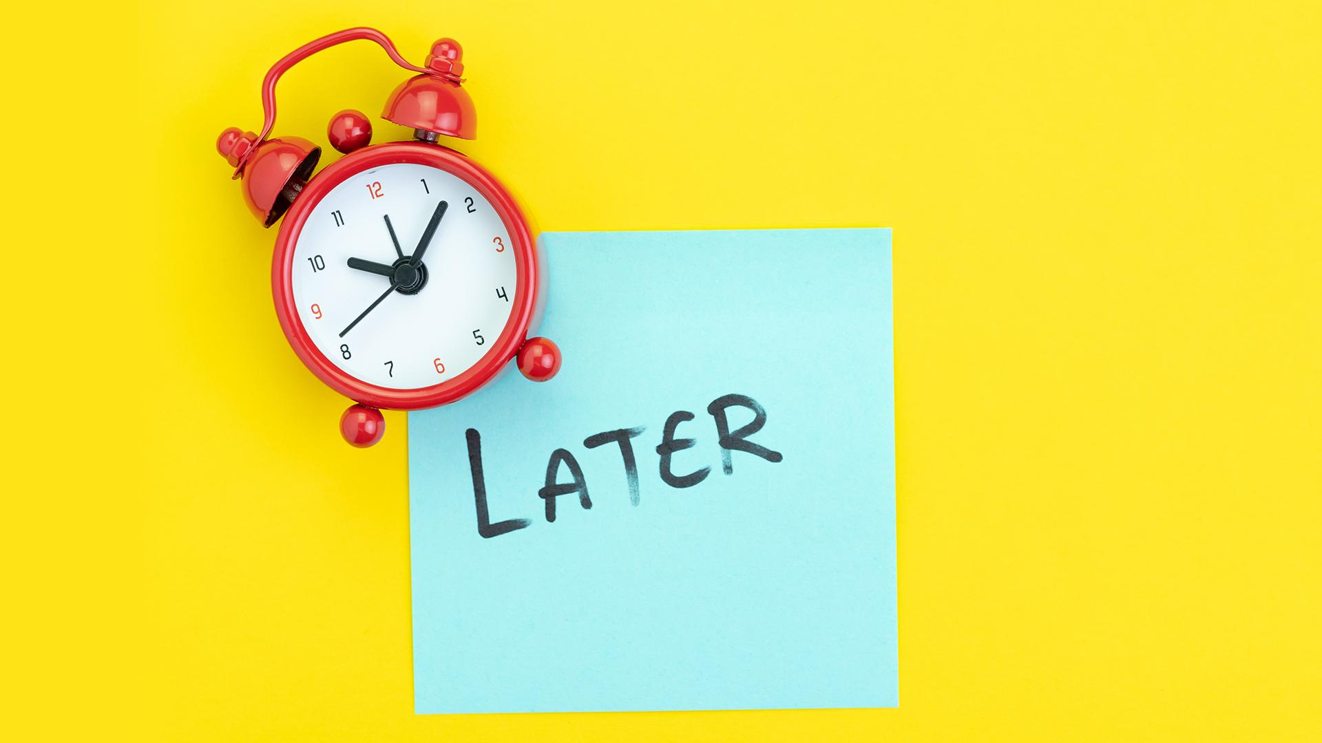 WellbeingHub procrastination
