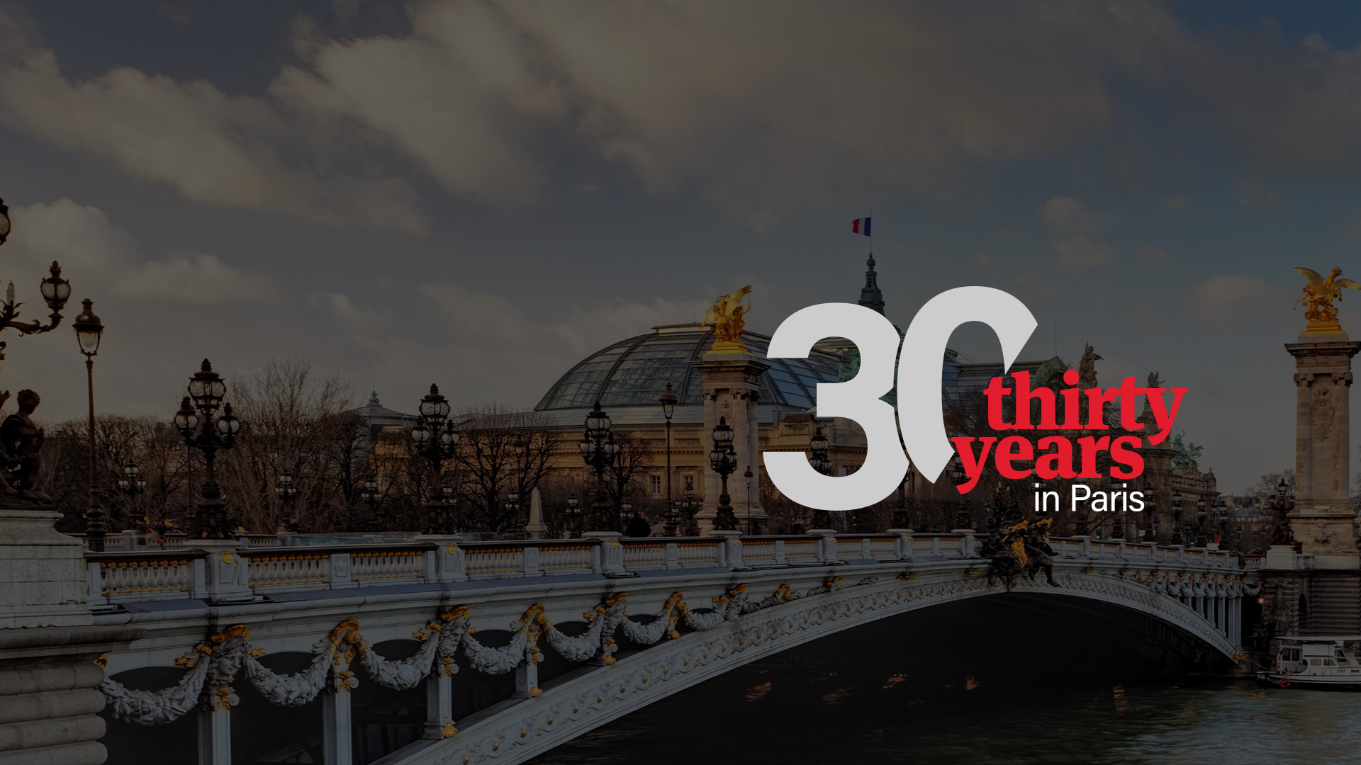 30 years in Paris
