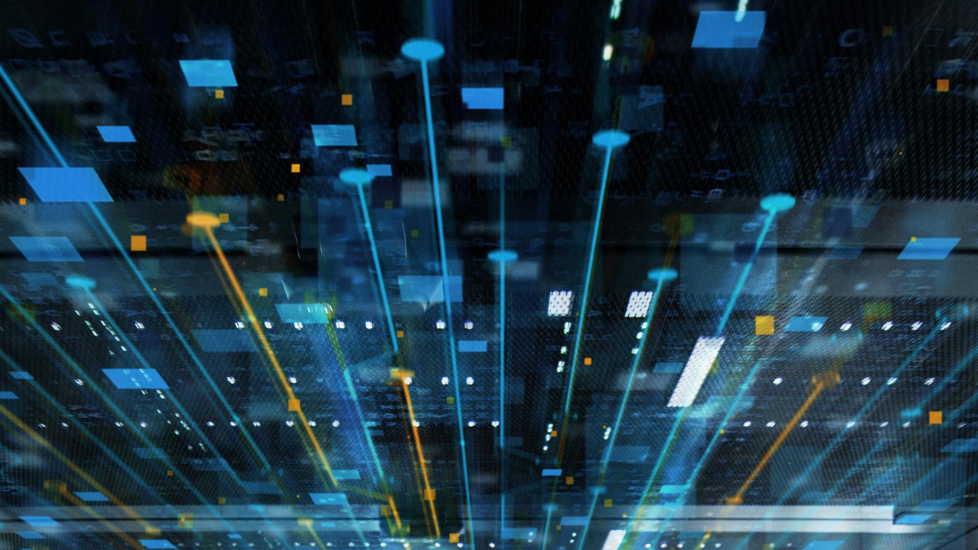 Artificial-intelligence-technology-network