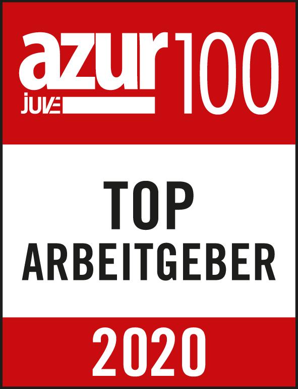 azur100 Top-Arbeitgeber_2020