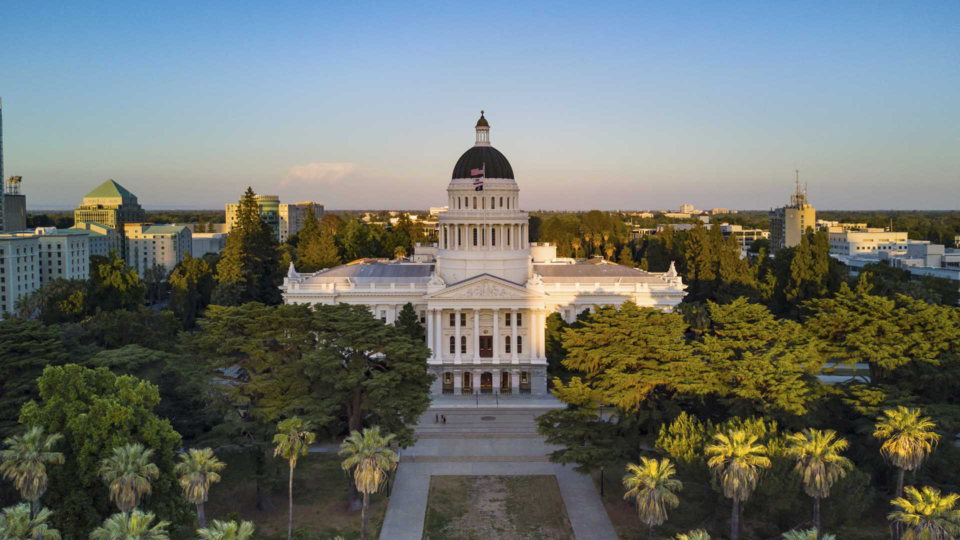 California courthouse