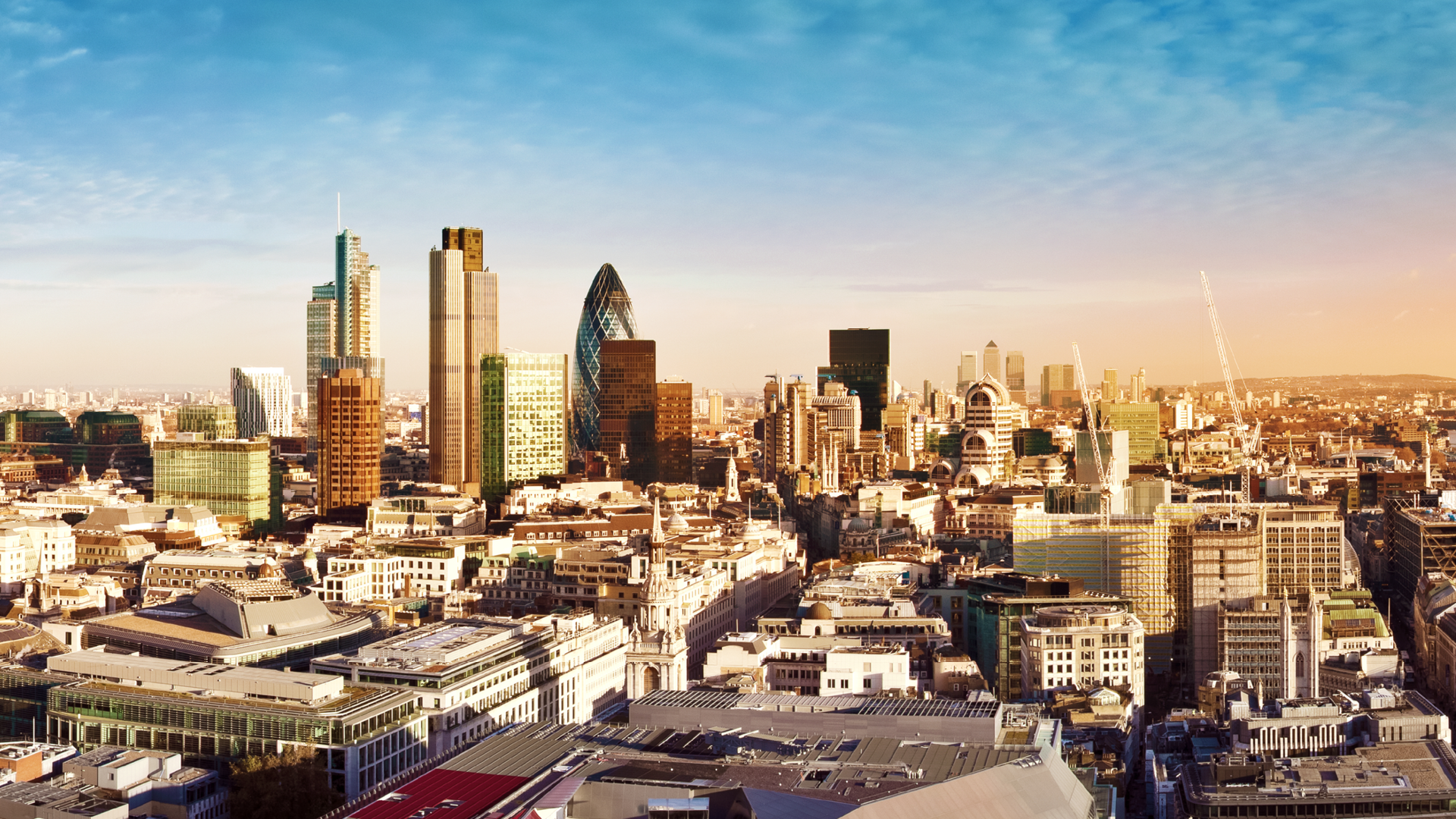 City of London the leading centres of global finance