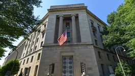 Department of Justice Building in Washington, DC