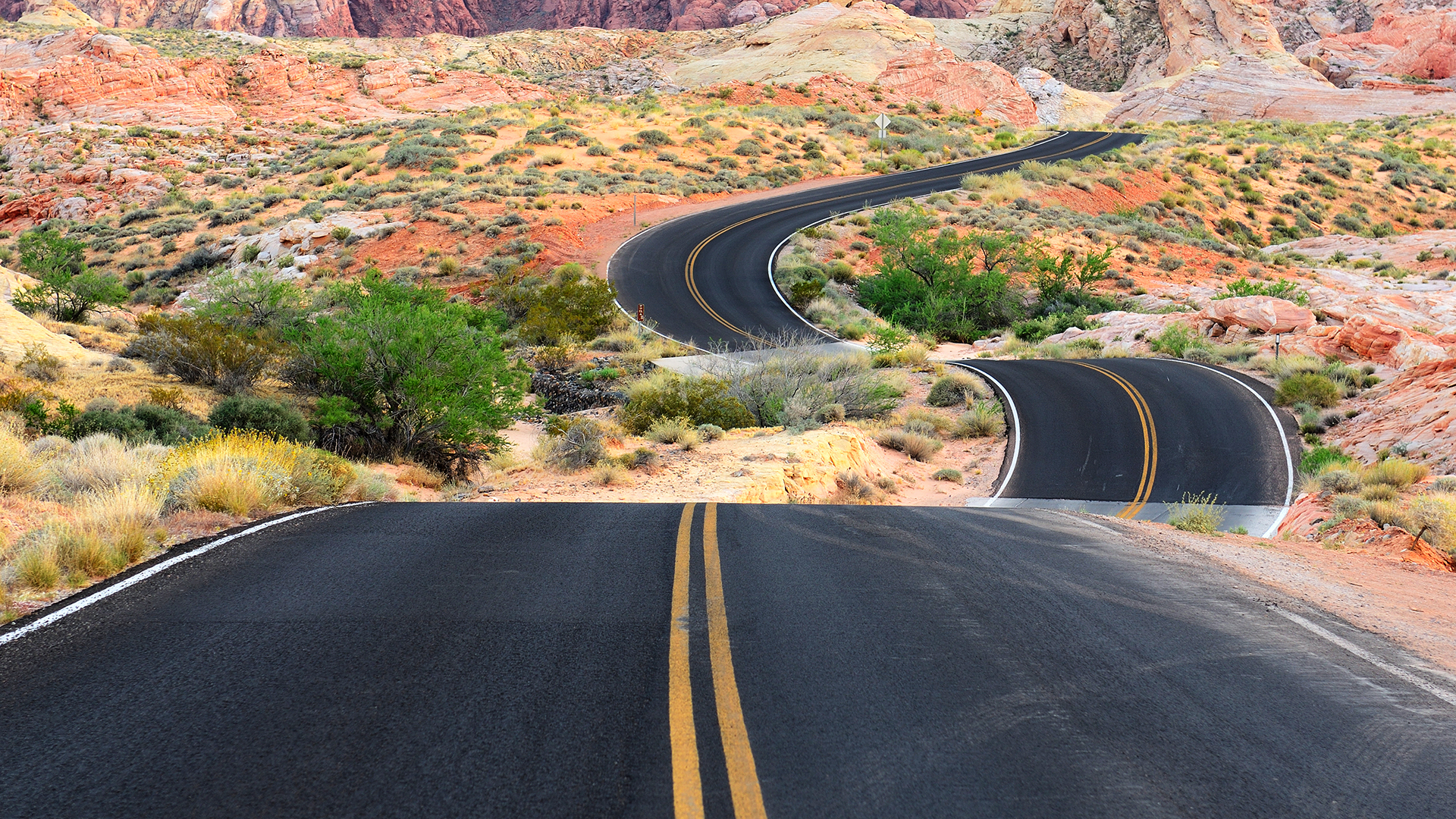 road to red rock