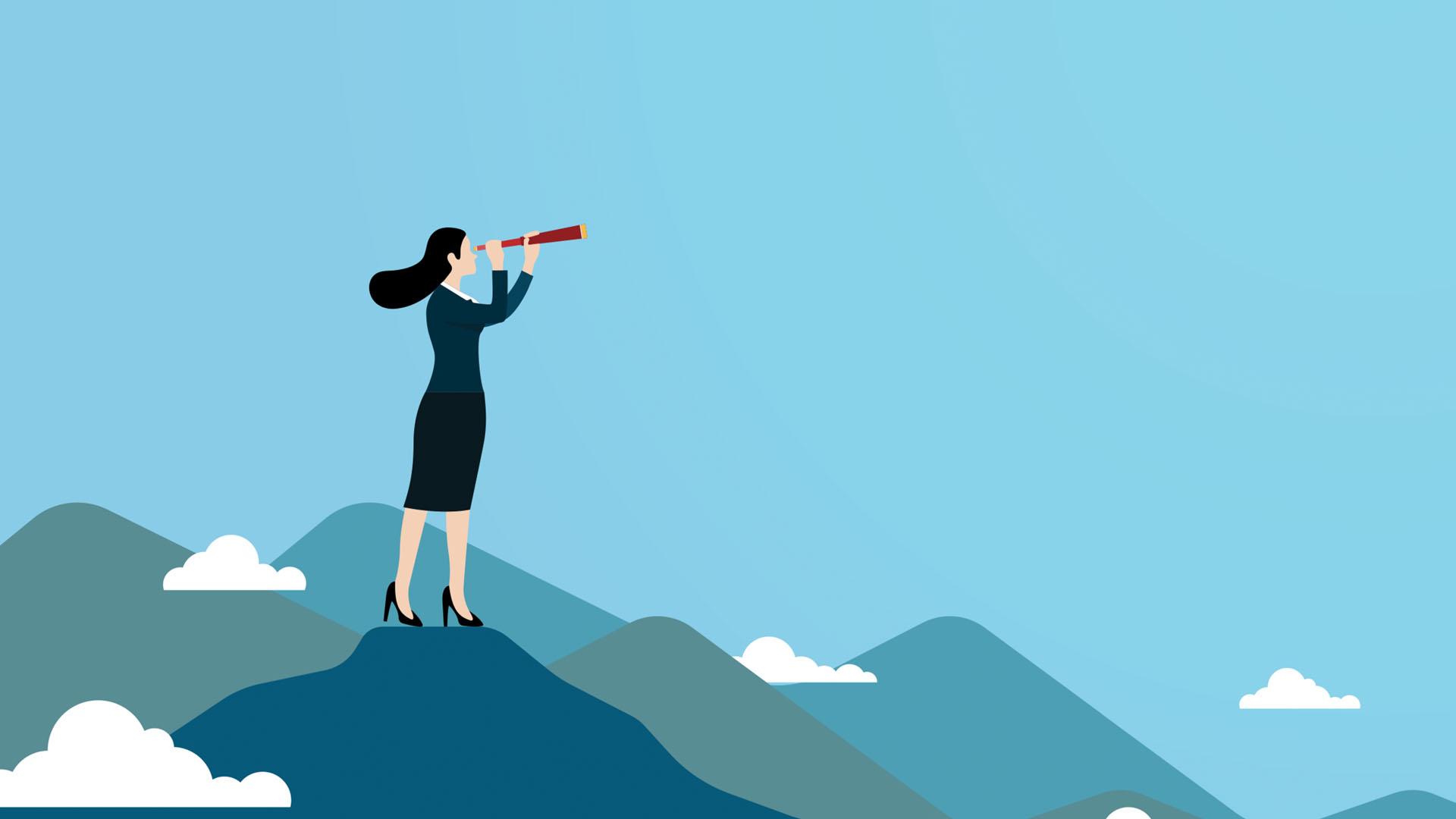 Employement-labor-australia-telescope-woman-mountains