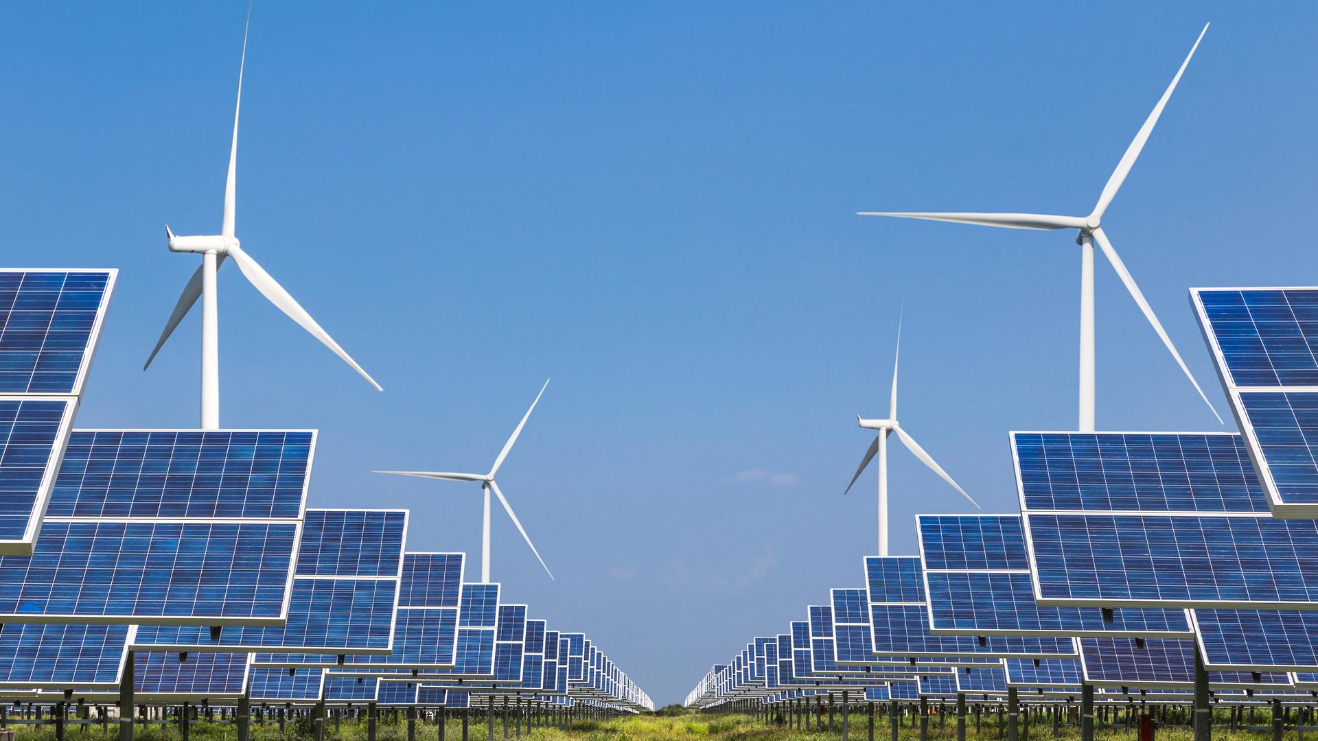 energy solar windmill