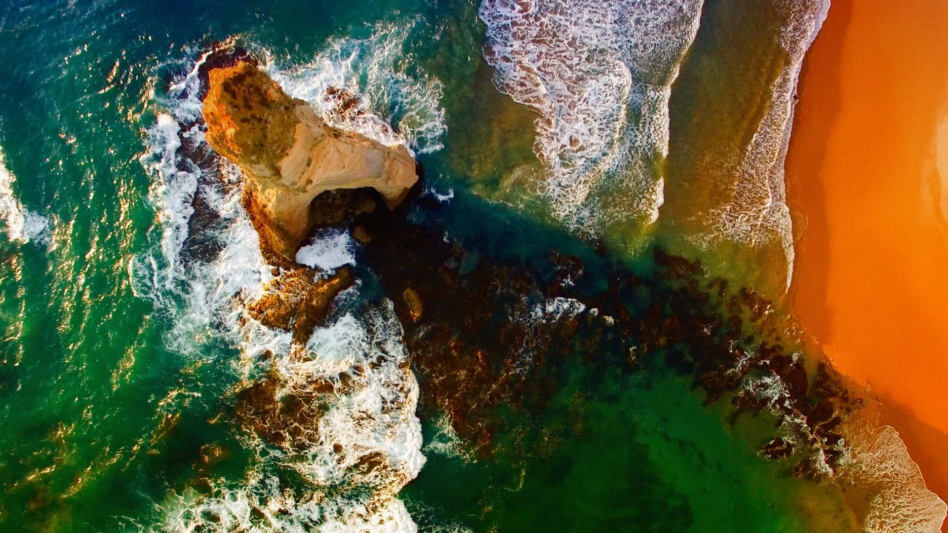 Environment-sea-ocean-shore-stone-rock