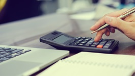 Financial-Institution-Calculate-computer-compute-tax-wage