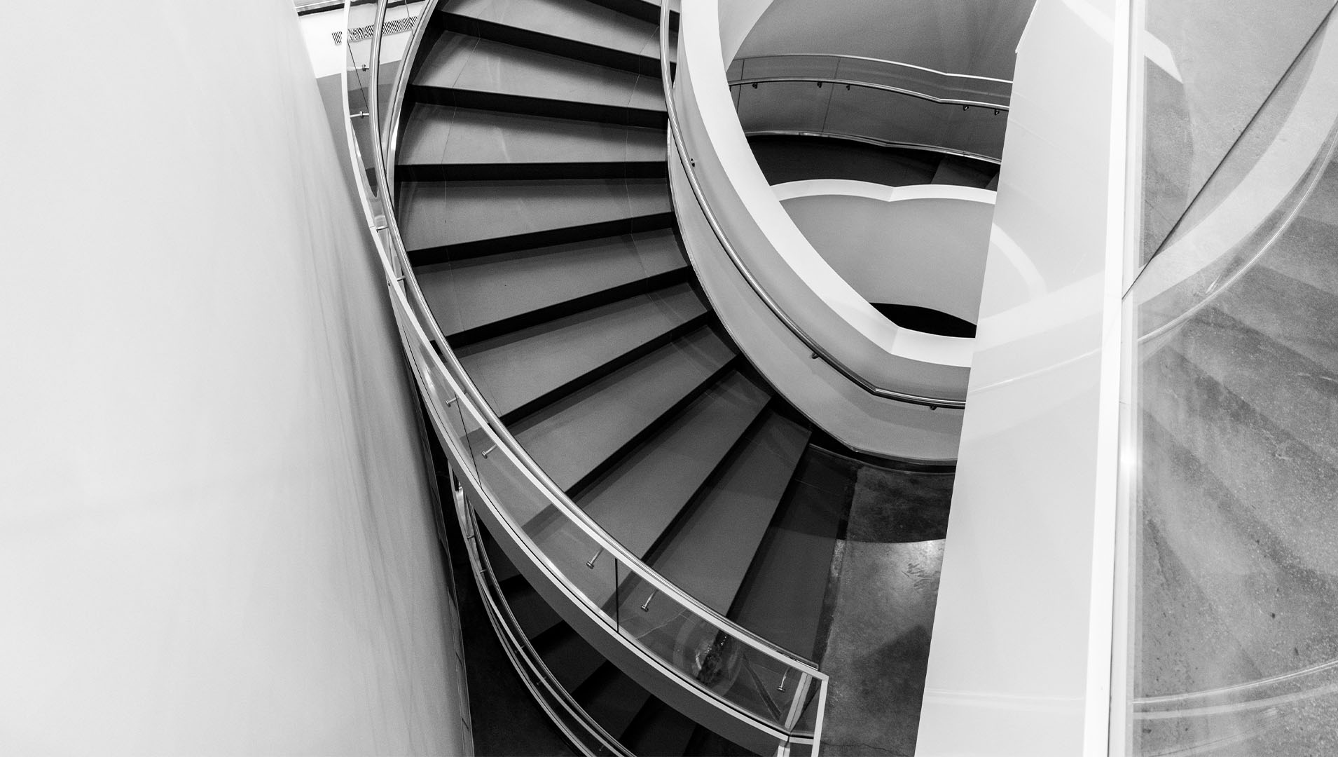 Financial-institutions-building-stairs-spiral