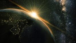 Globe-earth-space