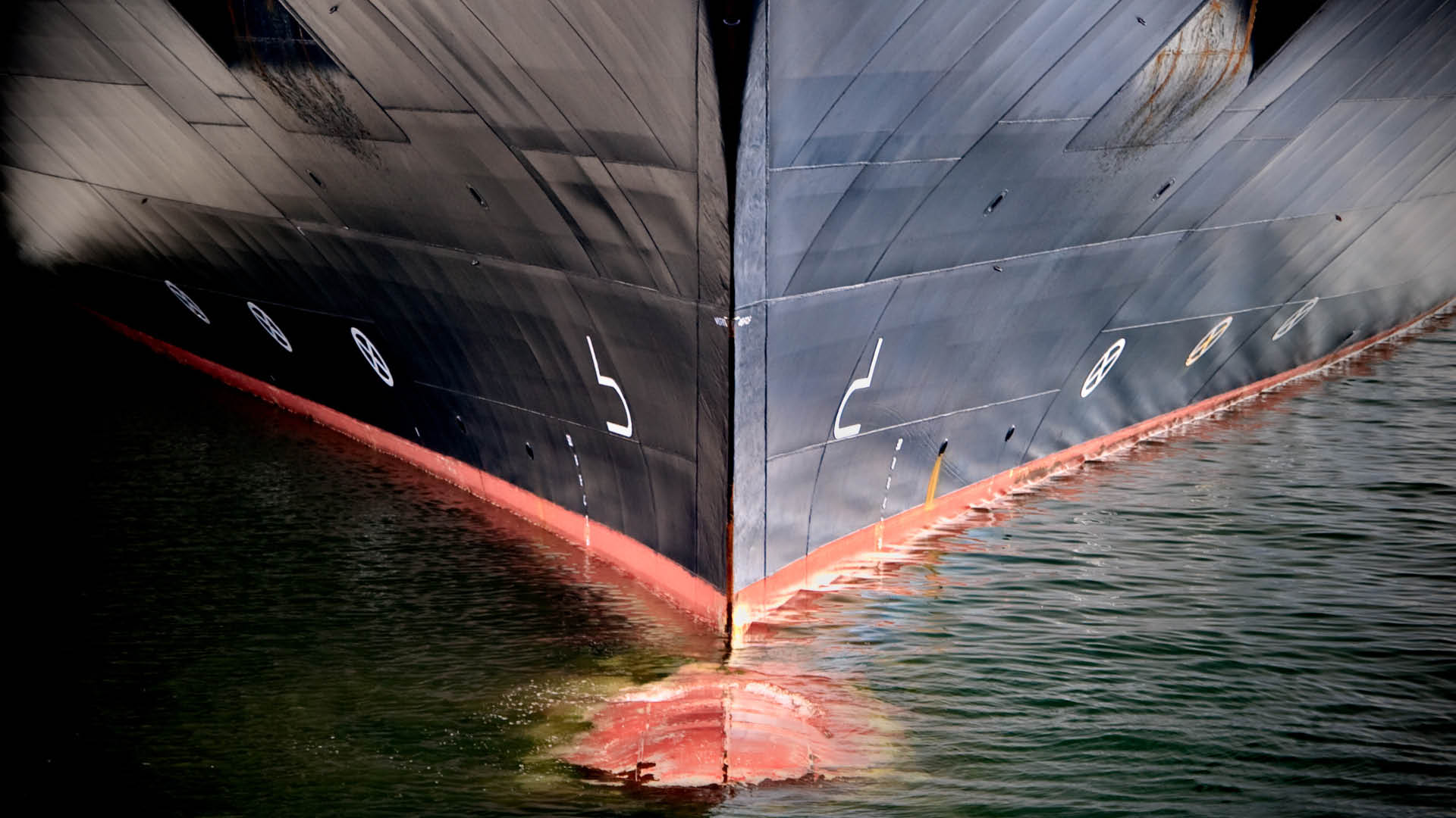 hull of the boat
