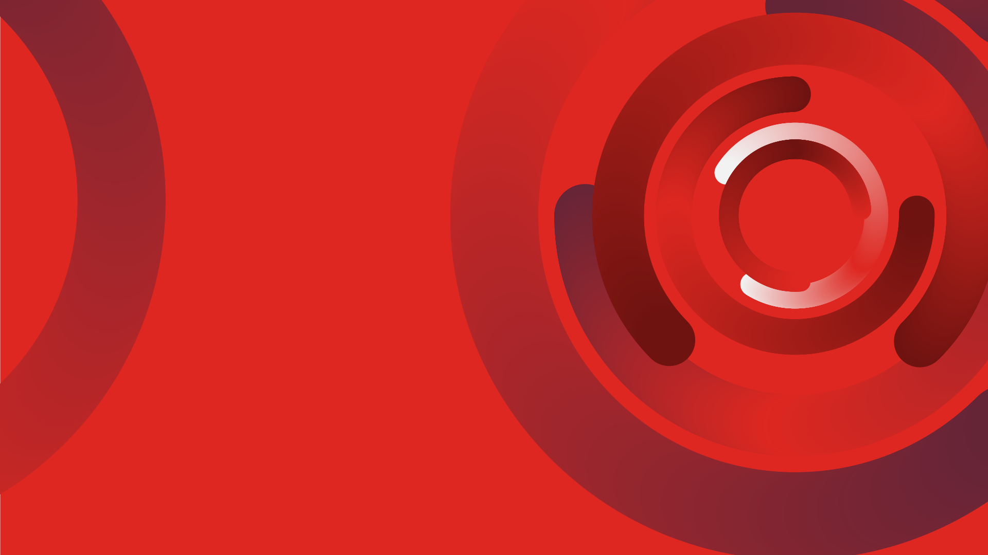 m and a outlook red circle background