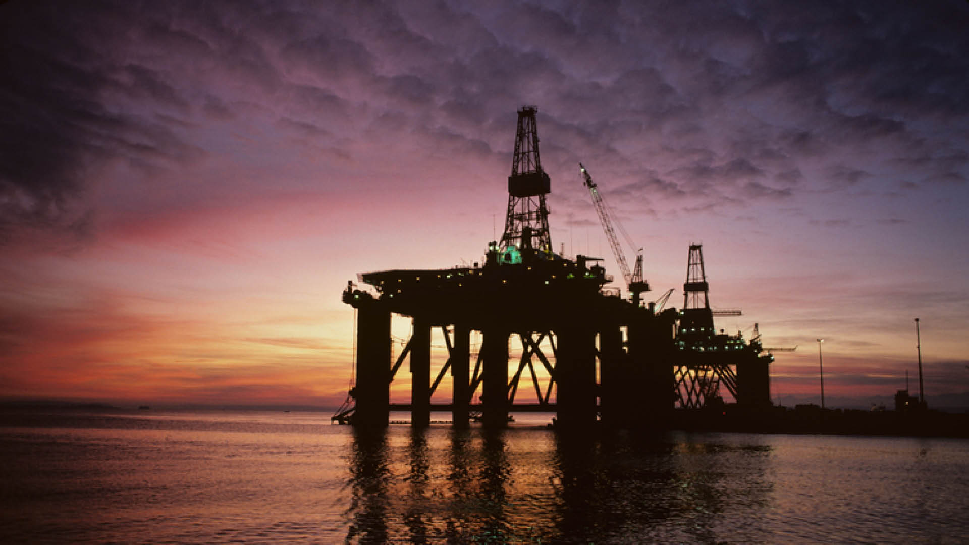 oil and gas in the sea