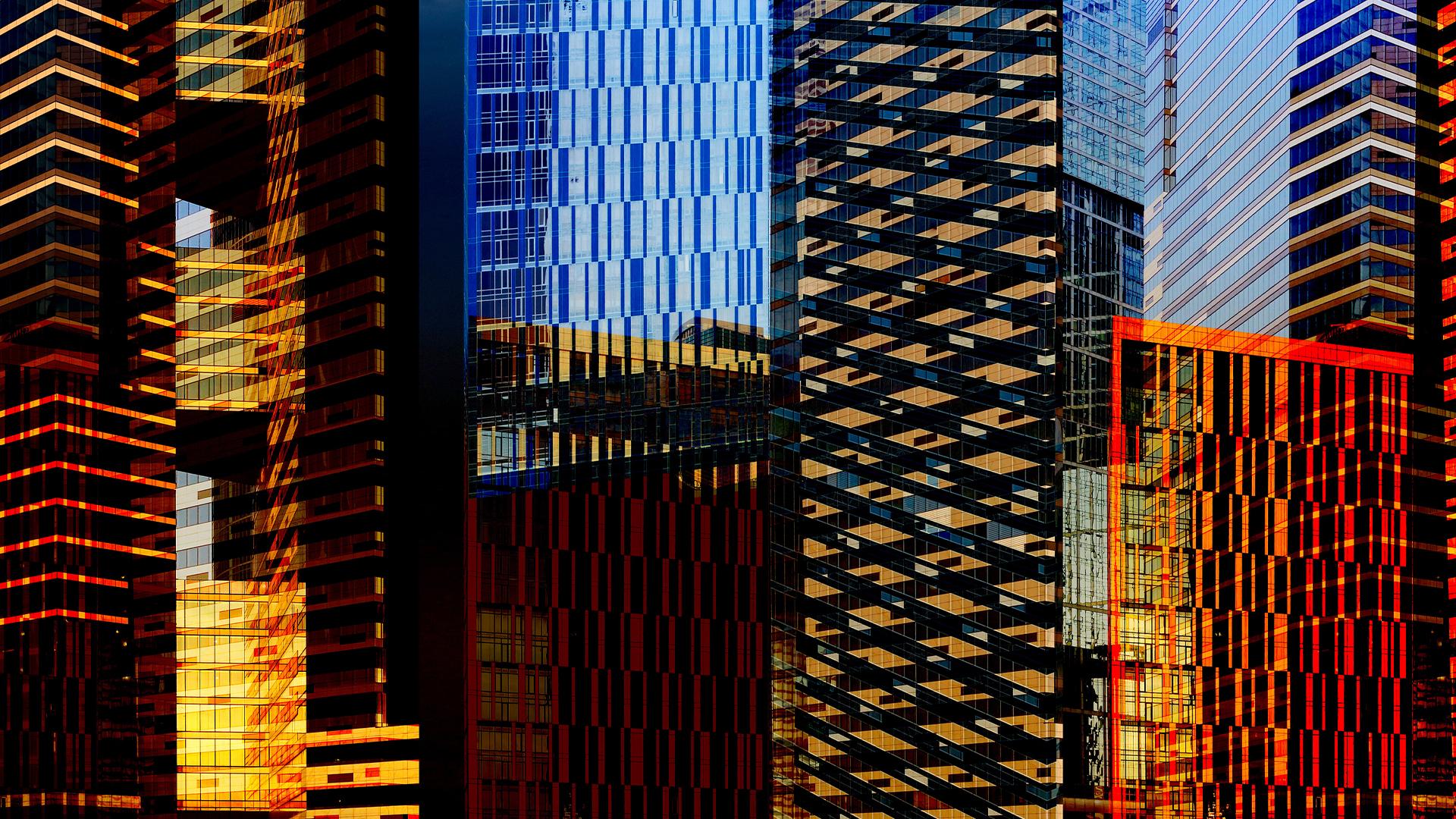 Real-estate-building-skyscraper-colors