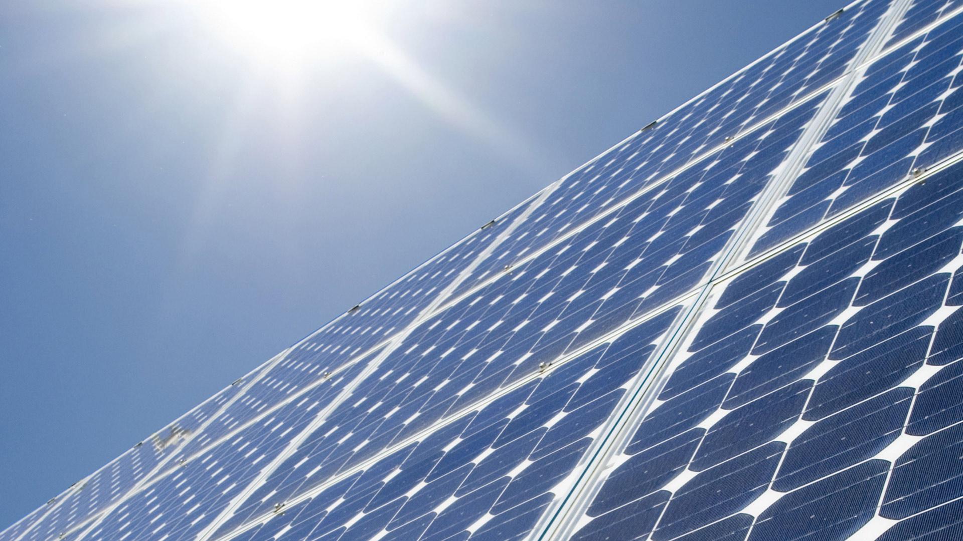 Xinjiang: Blocked solar panels