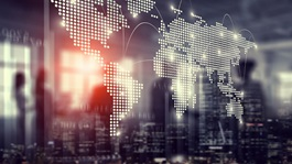 World-map-international-arbitration-corporate-trade-telecommunication
