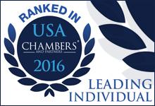 Chambers USA 2016 Leading Individual