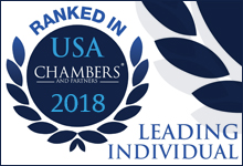 Chambers USA 2018 Leading Individual