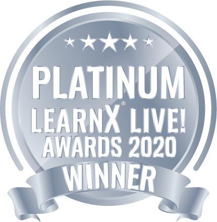 Platinum award logo