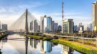 Latin American city skyline