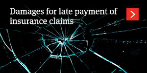 Damages for late payment of insurance claims