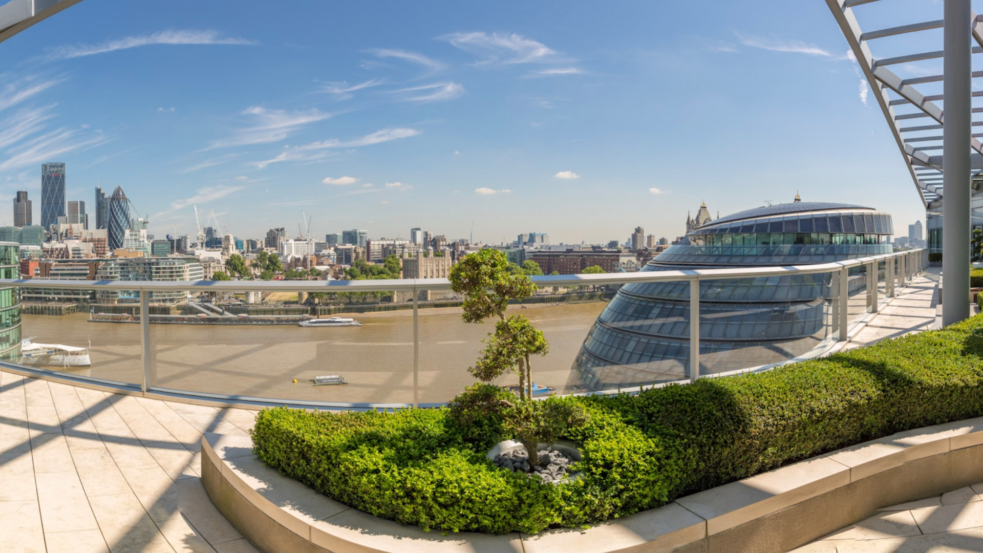 london office rooftop garden