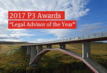 Norton Rose Fulbright scores 'Legal Advisor of the Year' at 2017 P3 Awards