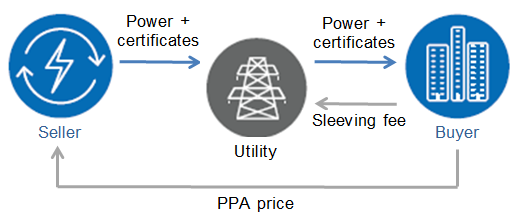 Sleeved or physical PPAs