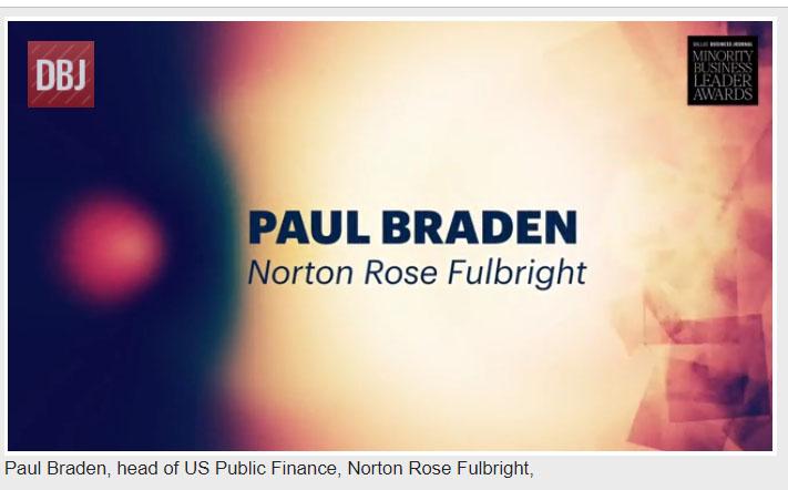 Paul Braden, head of US Public Finance, Norton Rose Fulbright (Video)