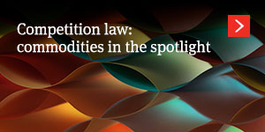 Competition law: commodities in the spotlight