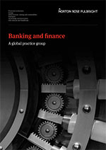 Banking and Finance brochure