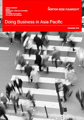 Doing Business in Asia Pacific 2016