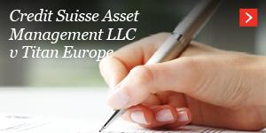Credit Suisse Asset Management LLC