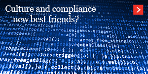 Culture and compliance – new best friends?
