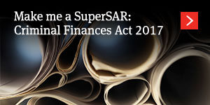 Make me a SuperSAR: Criminal Finances Act 2017