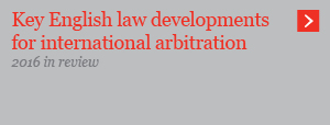 Key English law developments for international arbitration
