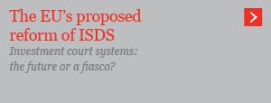The EU's proposed reform of ISDS