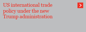 US international trade policy under the new Trump administration