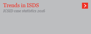 Trends in ISDS