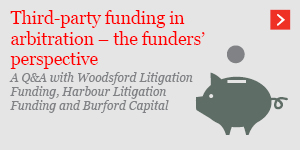 Third-party funding – the funders' perspective