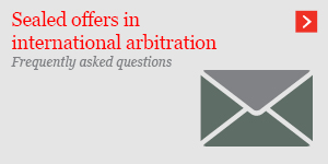 Sealed offers in international arbitration