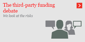 The third-party funding debate