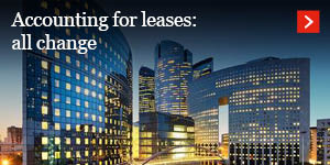 Accounting for leases: all change