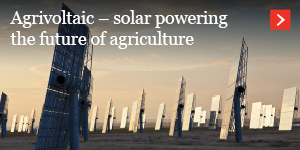 Agrivoltaic – solar powering the future of agriculture