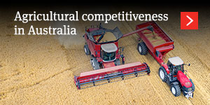 Agricultural competitiveness in Australia – a new focus of the regulator