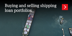 Buying and selling shipping loan portfolios
